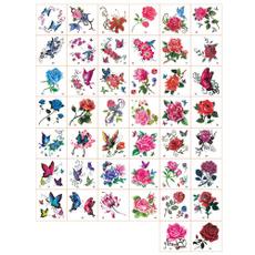 butterfly, cute, 52pc, Flowers
