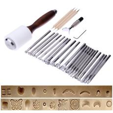 Stamps, leathercrafttool, Tool, carvingstamptool