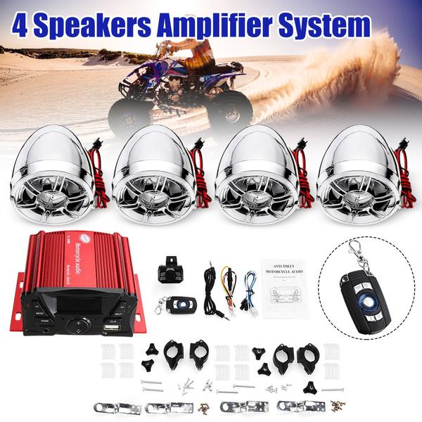 loudspeaker, audioamplifier, stereospeaker, motorcycleradio