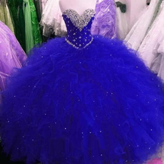 Blues, party, sweetheart, Plus Size