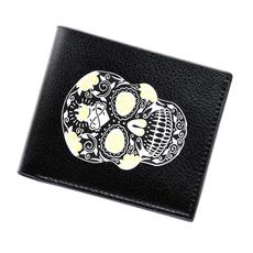 leather wallet, shortwallet, Men, menbillfold