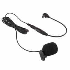 adaptercable, Mini, Microphone, cliponmicrophone