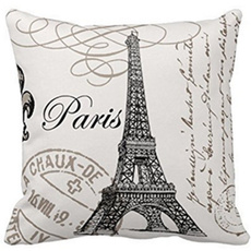 case, pariscushioncover, soft pillowcase, Cover