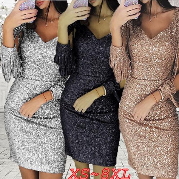 nightclub dress, Club Dress, Plus Size, Sleeve