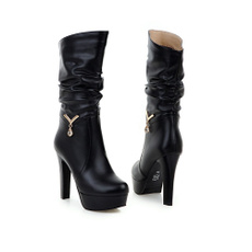 Fashion, Winter, Womens Shoes, Buckles