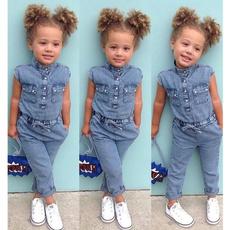 Summer, #Summer Clothes, Toddler, girljumpsuit