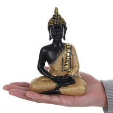 buddhastatue, Yoga, Sculpture, resinhomedecor