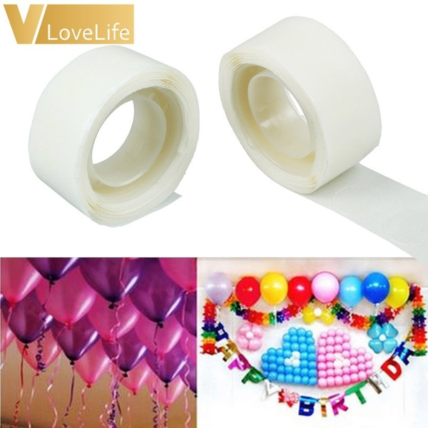 party, Stickers, Party Supplies, balloonglue