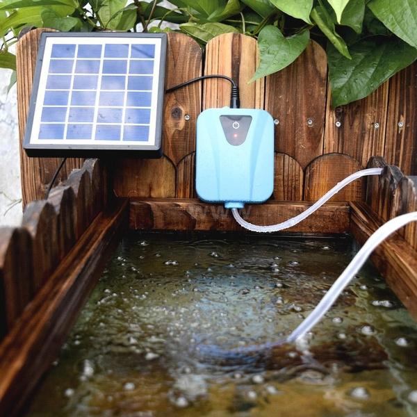 solarpoweredpump, Solar, oxygenpump, solarpanel