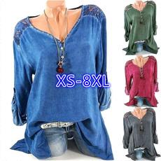 blouse, Moda, long sleeve blouse, Encaje