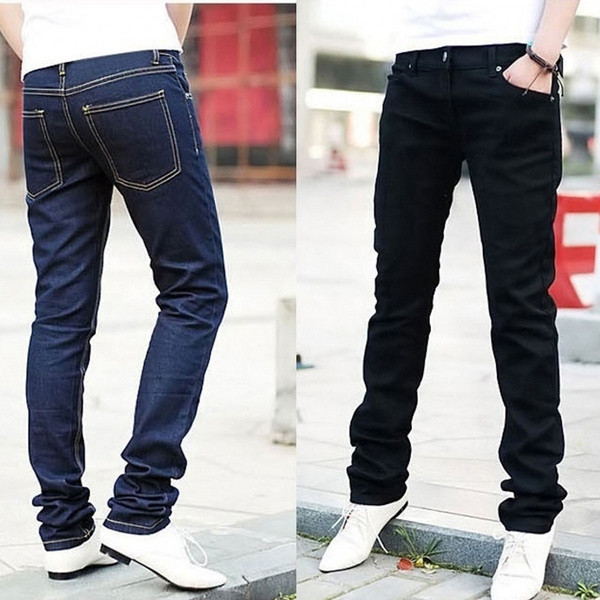 men's jeans, Fashion, skinny pants, men trousers