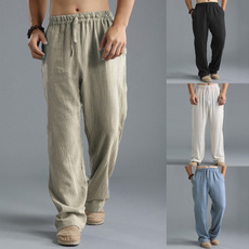 Plus Size, Yoga, Elastic, Casual pants