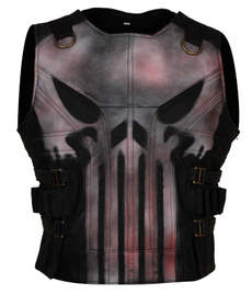 punisher, raystevenson, Cosplay, motorcyclevest