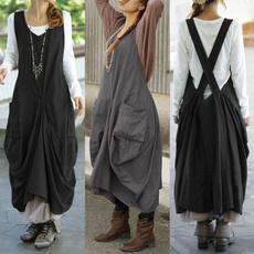Plus Size, dungareedres, long dress, plus size dress