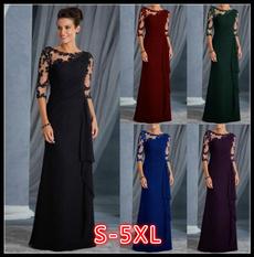 slim dress, Plus Size, Encaje, Evening Dress