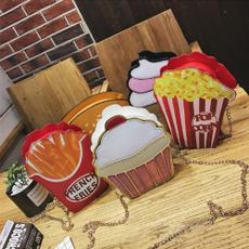 cupcakebag, hamburgerbag, Mini, minimessengerbag