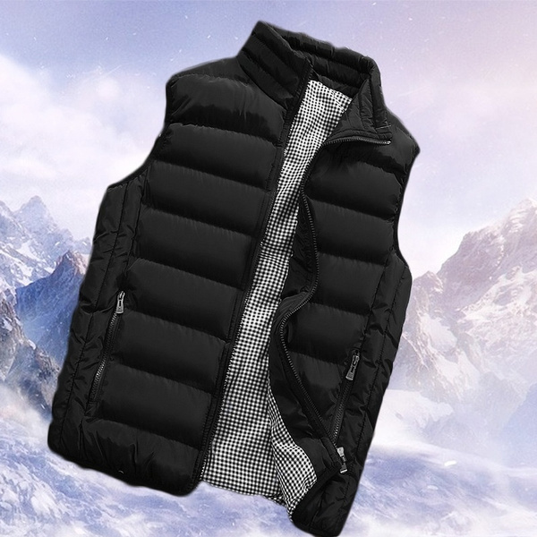 Vest, Slim Fit, Winter, puffervest