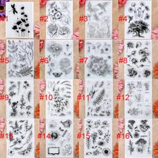 Card, Flowers, scrapbookingamppapercraft, rubberstamp