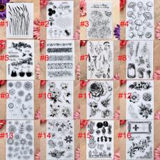 Card, Flowers, Mushroom, scrapbookingamppapercraft