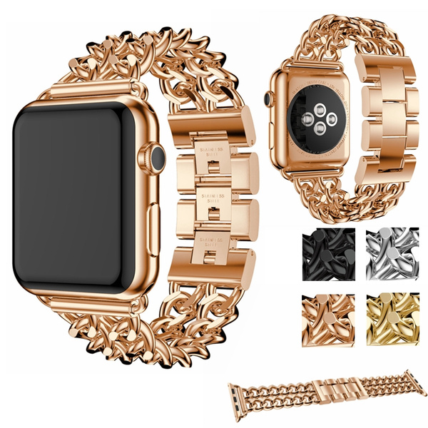 Fashion, Apple, Watch, Stainless Steel