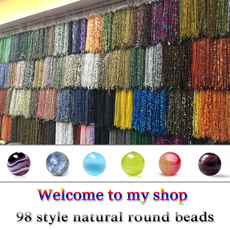 diyjewelry, colorfulagatebead, Jewelry, Crystal