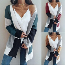 Plus Size, knitted sweater, baggycoat, sweater coat