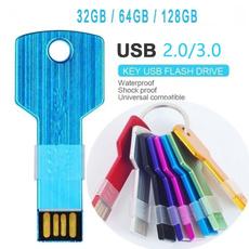Keys, thumbdrive, usb, Colorful