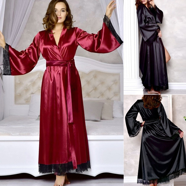 night dress, Bathroom, silk, gowns