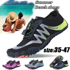 Summer, Fashion, beach shoes, Beach