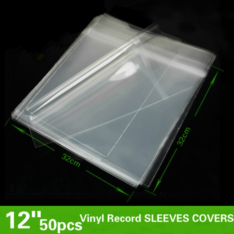 Set of 250 6 mil Clear Vinyl Front 6 1//4 x 11 Adhesive Back Vinyl Plastic Sleeve 1.122 Each Long Side Opening