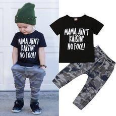 Summer, kidsboyclothesset, toddlerbabyclothesset, pants