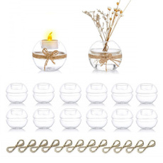 Candleholders, Home Decor, Candle, Glass