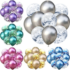 silverballoon, latexballoon, Party Supplies, Metallic