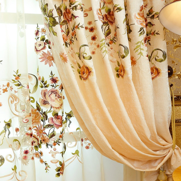 europeanembroiderycurtain, Fashion, voliecurtain, tulle