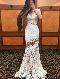 lace dresses, Lace, long dress, Evening Dress