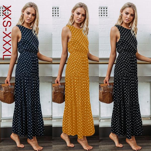 Women's Fashion, Summer, Plus Size, long dress