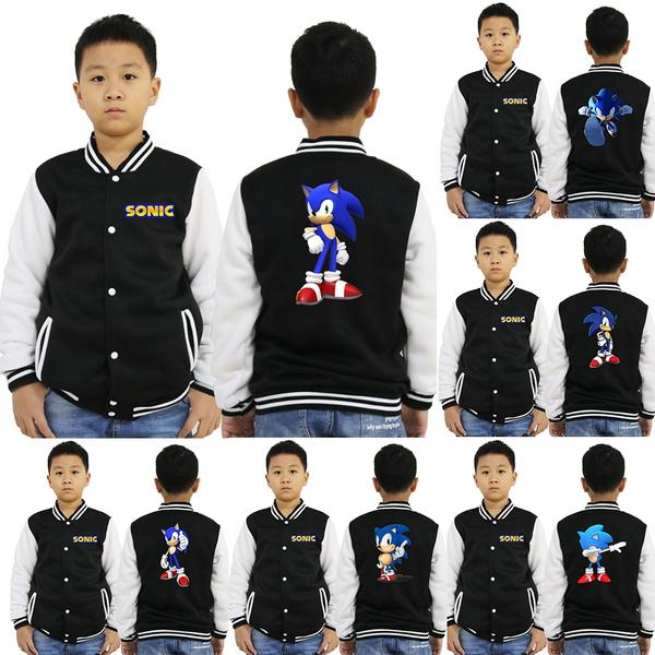 sonic, cottonjacket, kids clothes, Fashion