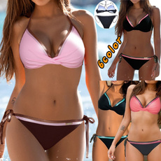 Fashion, women beachwear, plus size bikinis, Bikini swimwear