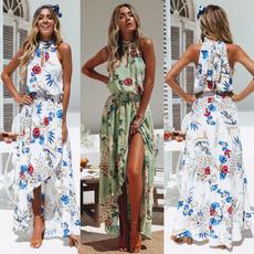 Summer, halter dress, Halter, women dresses
