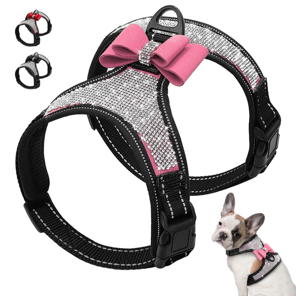 Harness, fancyandfashionable, blingdogharnes, Crystal