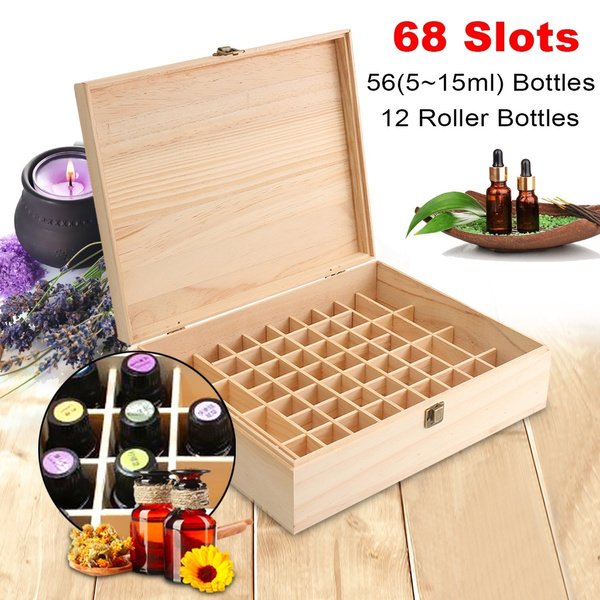 woodenstoragecase, Storage Box, Beauty, Home & Living