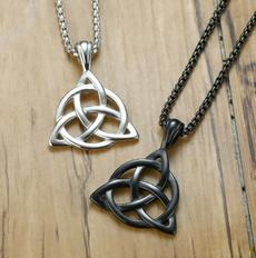 Celtic, Fashion necklaces, Jewelry, trinity