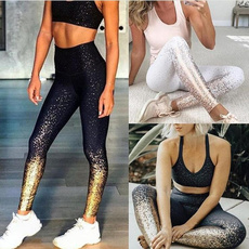 Leggings, Stamping, Yoga, Fitness