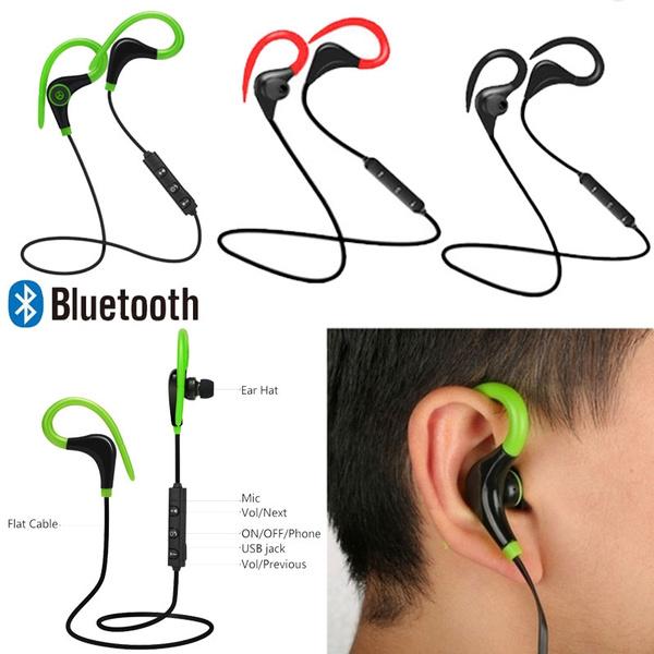 sweatproof, Headset, Stereo, Ear Bud