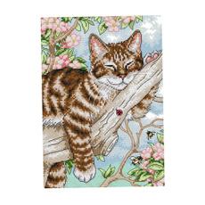 embroiderycrossstitch, Cross, Cats, dimensionsneedlecraftsneedlepoint