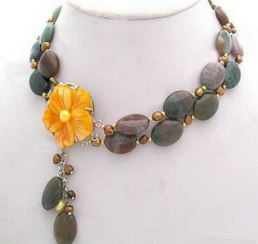 Necklace, Flowers, Jewelry, Necklaces For Women
