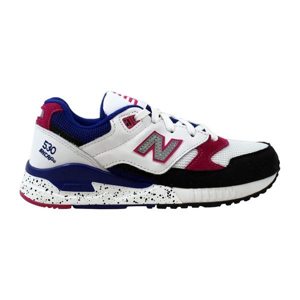 New Balance 530 90s Running White/Black-Pink-Blue W530PSA Women's | Wish