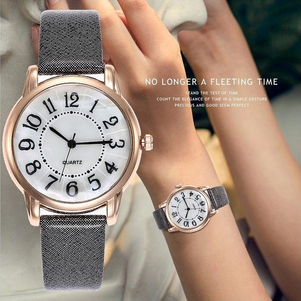 Fashion, Casual Watches, leather strap, Bracelet Watch