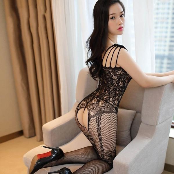 Lace, black lace, Dress, lace lingerie