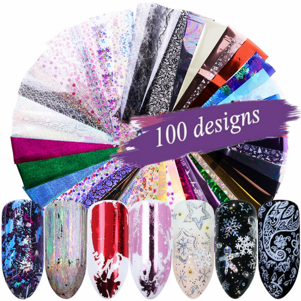 decoration, nail decals, Flowers, art